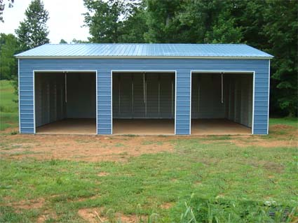 22 X 36 X 12 Vertical Roof Eco Friendly Steel Carport