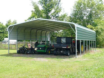 24 X 36 12 Standard Eco Friendly Steel Carport W