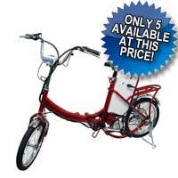Electric Cycle Matic Foldable Bike Bicycle