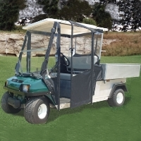 Brand New Vinyl Club Car Carry All Golf Cart Enclosure
