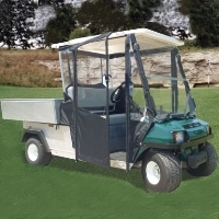 Brand New Club Car Carry All Sunbrella Golf Cart Enclosure