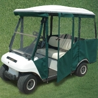 Brand New Club Car DS 2000+ Four Passenger Sunbrella Golf Cart Enclosure