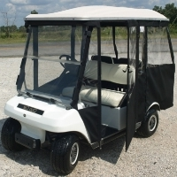 Brand New Club Car DS Pre-2000 Four Passenger Sunbrella Golf Cart Enclosure