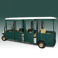 Brand New Vinyl EZ-GO Shuttle 8 Golf Cart Enclosure