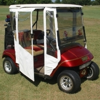 Brand New EZ-GO TXT Sunbrella Golf Cart Enclosure
