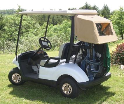Brand new yamaha drive sunbrella golf cart enclosure for Yamaha golf cart repair near me