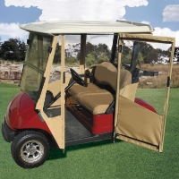 Brand New Yamaha Drive Sunbrella Golf Cart Enclosure