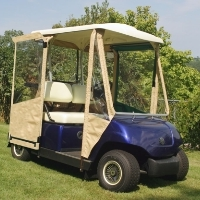Brand New Yamaha GMAX (G-22) Sunbrella Golf Cart Enclosure