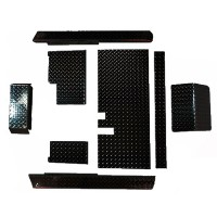Brand New High Quality Black Diamond Plate Accessories Kit for Yamaha G14-G22