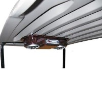 Brand New High Quality Woodgrain Universal Golf Cart Overhead Radio Console