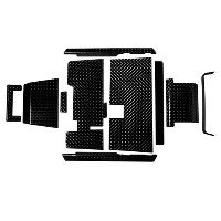 Brand New High Quality Diamond Plate Accessories Kit for EZGO TXT 95-Current