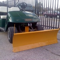 Brand New High Quality Breakaway Snow Plow for EZGO TXT 1996-Current