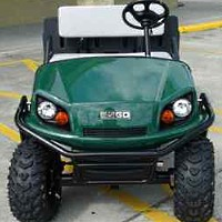 Brand New 2013 EZ-GO Terrain 250 Gas Golf Cart w/Dump