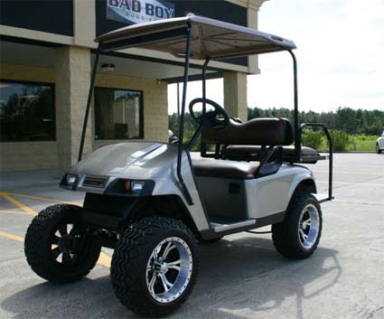 36v Pewter EZ-GO Electric Golf Cart on golf cart remote control, golf cart wiring, golf cart material, golf cart width, golf cart color,