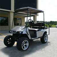 36v Pewter EZ-GO Electric Golf Cart