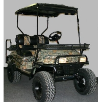 EZ-GO Custom 36V Hunting Golf Cart