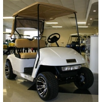 EZ-GO Custom White 36v Golf Cart