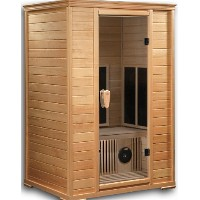 2-3 Person Sauna with Carbon Heaters ( INVENTORY BLOWOUT SALE )