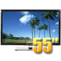 MirageVision Diamond Series 55 Inch 1080p TV LED Outdoor Smart HDTV Television