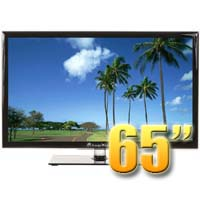 MirageVision Diamond Series 65 Inch 1080p TV LED Outdoor Smart HDTV Television