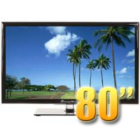 MirageVision Diamond Series 80 Inch 1080p TV LED Outdoor Smart HDTV Television