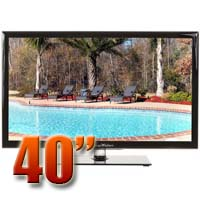 MirageVision Gold Series 40 Inch 1080p TV LED Outdoor HDTV Television