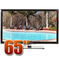 MirageVision Gold Series 65 Inch 1080p TV LED Outdoor HDTV Television