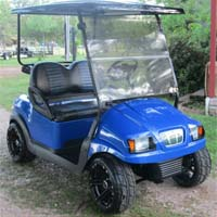 48V Blue Phantom Club Car Precedent Electric Golf Cart