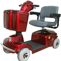 High Quality HS - 360 Econo 4 Wheel Scooter