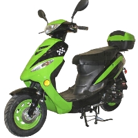 50cc Rocket Air Cooled Automatic Moped Scooter - Model PMZ50-4J