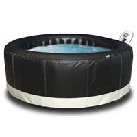 6 Person Super Camaro Round Shape Bubble Spa Inflatable Hot Tub