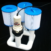 Brand New Bottom Feeder 1,800 GPH Pool 110v Plugin Pump and Filter System