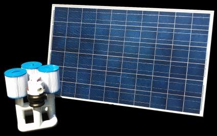 Brand New Bottom Feeder 40 000 Gallon Pool 220 Watt Solar