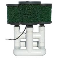 Brand New Bottom Feeder 40,000 Gallon Pond 220-watt Solar Pump and Filter System
