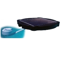 Brand New Surface Pond Skimmer Solar Pond Cleaner 60-watts Solar Powered