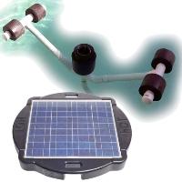 Brand New Surface Pond Skimmer Floating Solar Pond Cleaner 60watts Solar Powered