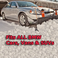 Fits BMW Cars, Vans & SUVs - Auto Straight Snow Plow