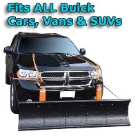 Auto Straight Snow Plow- Fits All Buick Cars, Vans & SUVs