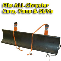 Auto Straight Snow Plow- Fits All Chrysler Cars, Vans & SUVs