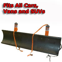 Auto Straight Snow Plow- Fits All Cars, Vans & SUVs