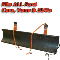 Auto Straight Snow Plow- Fits All Ford Cars, Vans & SUVs