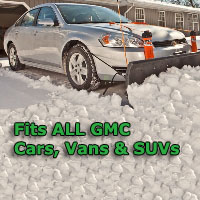 Auto Straight Snow Plow- Fits All GMC Cars, Vans & SUVs