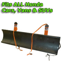 Auto Straight Snow Plow- Fits All Honda Cars, Vans & SUVs