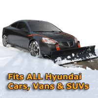 Auto Straight Snow Plow- Fits All Hyundai Cars, Vans & SUVs