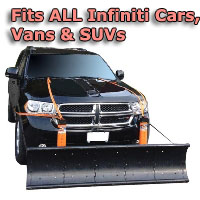 Auto Straight Snow Plow- Fits All Infiniti Cars, Vans & SUVs