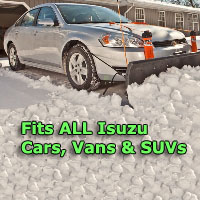 Auto Straight Snow Plow- Fits All Isuzu Cars, Vans & SUVs