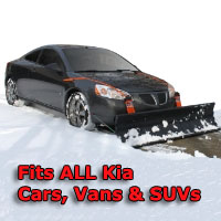 Auto Straight Snow Plow- Fits All Kia Cars, Vans & SUVs