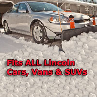 Auto Straight Snow Plow- Fits All Lincoln Cars, Vans & SUVs