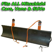 Auto Straight Snow Plow- Fits All Mitsubishi Cars, Vans & SUVs