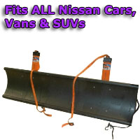 Auto Straight Snow Plow- Fits All Nissan Cars, Vans & SUVs